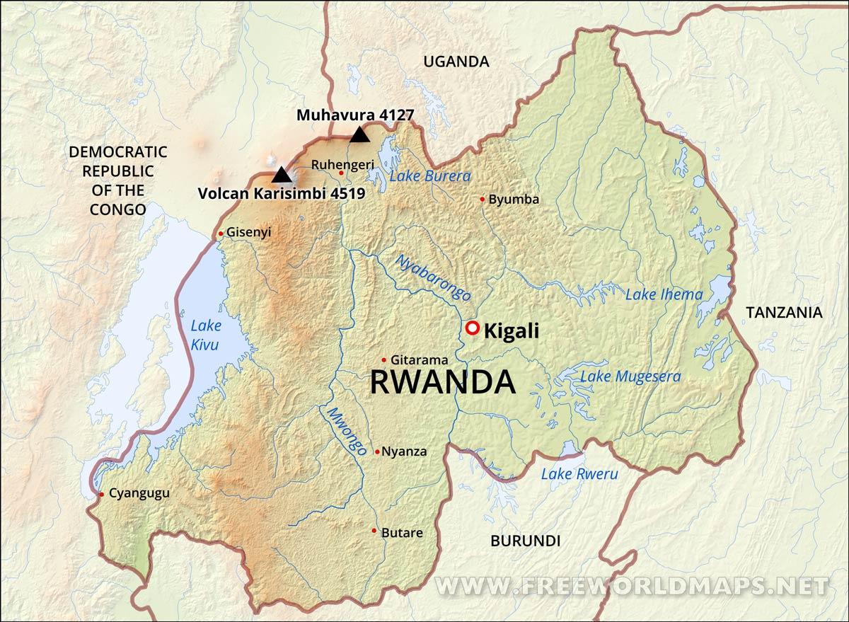 rwanda map images diagram writing sample ideas and guide